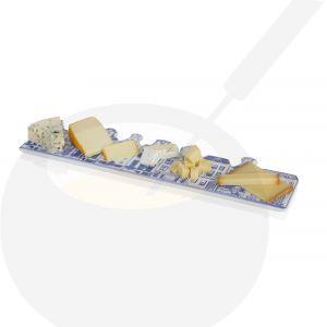 Kaas- en chocoladeplank Delfts Blauw