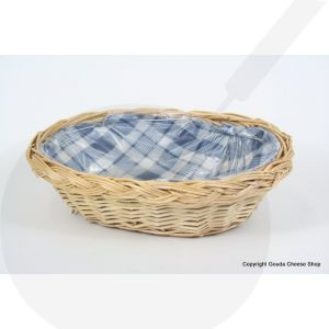 Wicker Korb Blockige Blau - 27 x 20 x 8 cm