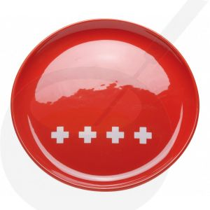 Kaasfonduebord - Rood Zwitsers XXX