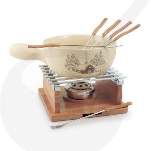 Swissmar Chalet 10-delige keramische fondueset