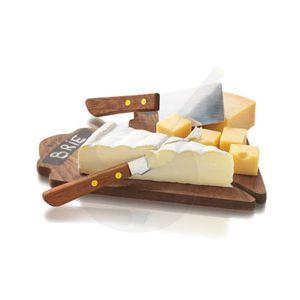 Cheese Dessert Set - Kaasplankje met mesjes