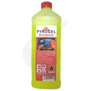 Pyrogel brandpasta Fles 1 liter - Brandgel