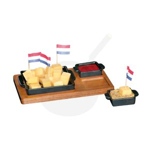Tapas Cheese Cups Zwart